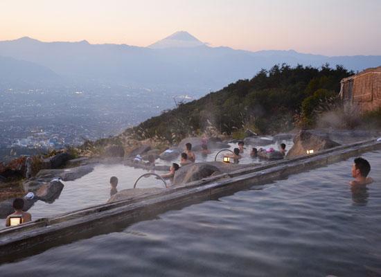 ほったらかし温泉/あっちの湯(富士山)