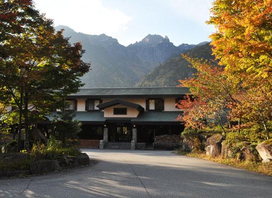 新穂高温泉・野の花山荘(外観)