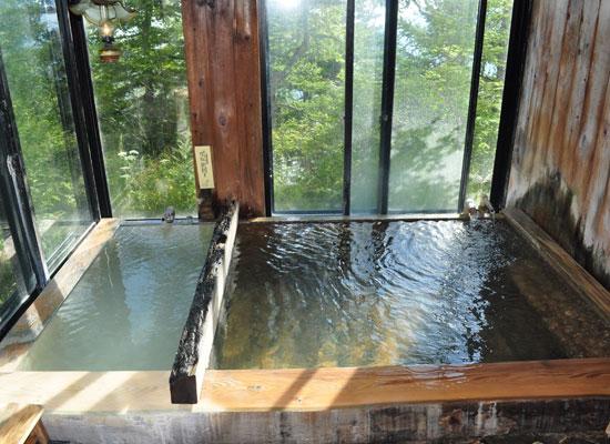 高峰温泉(ランプの湯)