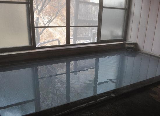 山形・姥湯温泉桝形屋(男湯・内湯)