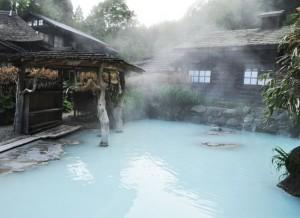 鶴の湯温泉・混浴露天風呂