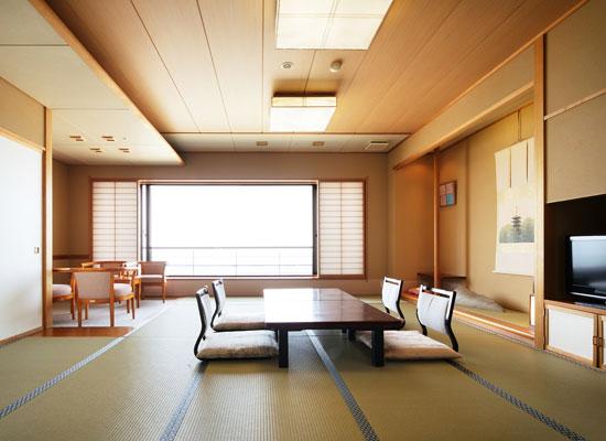 大観荘せなみの湯・宿泊棟「そよ風」の客室