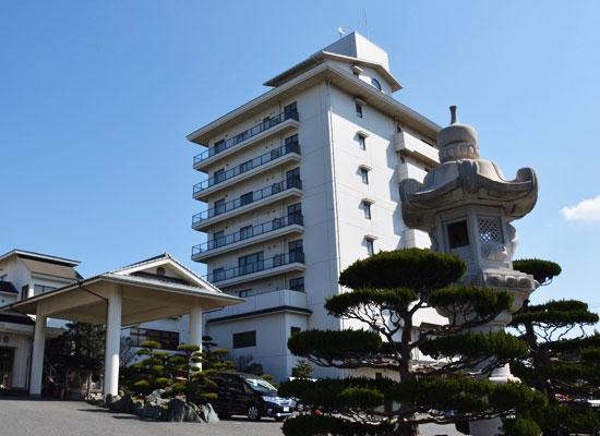 油谷湾温泉・ホテル楊貴館(外観)