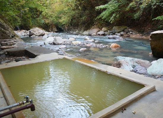塩の湯温泉・明賀屋本館/女性専用露天風呂