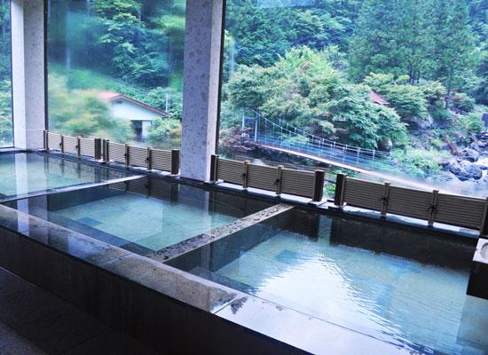 十谷上湯温泉・源氏の湯/ながめ風呂