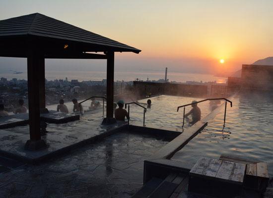 観海寺温泉・杉乃井ホテル/露天風呂