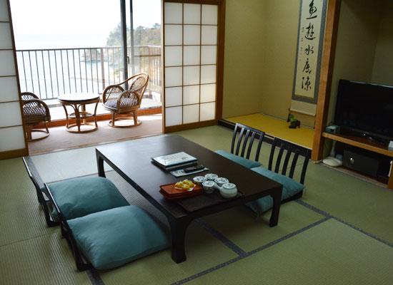 堂ヶ島温泉・アクーユ三四郎/客室