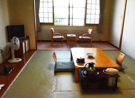丸駒温泉・丸駒温泉旅館/客室