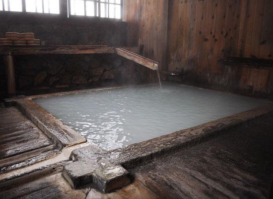 鶴の湯温泉/白湯