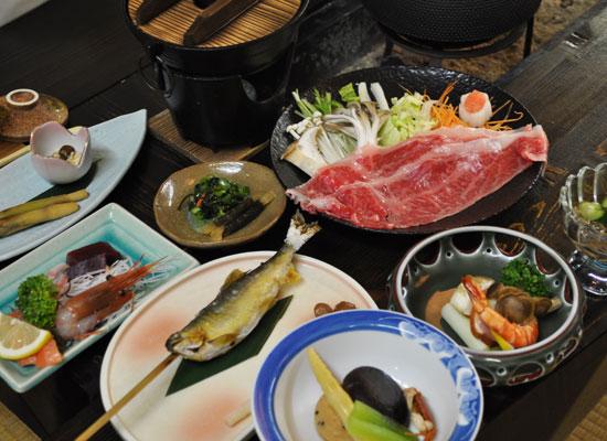 高湯温泉・吾妻屋/料理