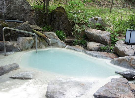 白骨温泉・小梨の湯笹屋/露天風呂
