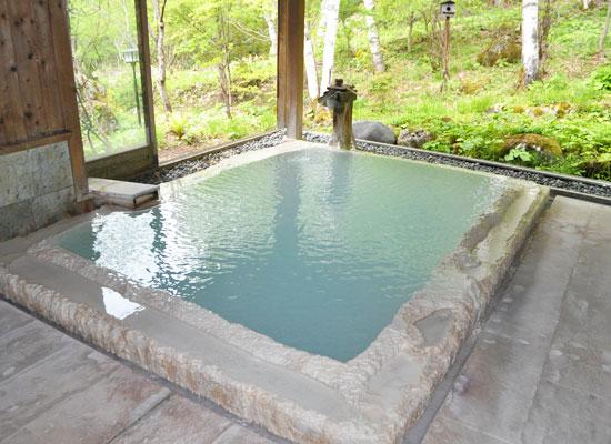 白骨温泉・小梨の湯笹屋/女性内湯