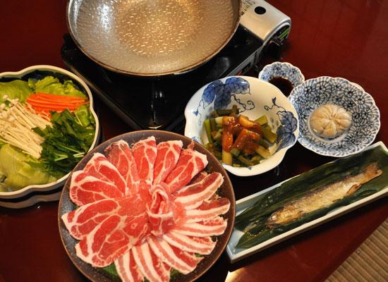白骨温泉・小梨の湯笹屋/料理