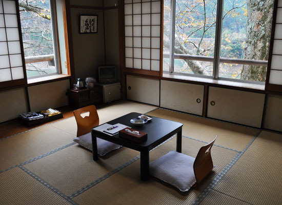 入之波温泉・湯元山鳩湯/客室