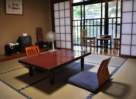 栃尾又温泉・自在館/客室(和室)