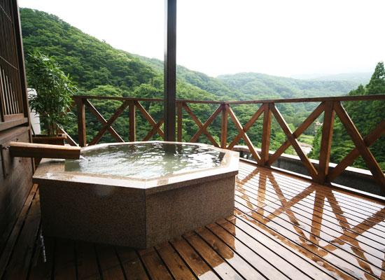 小滝温泉/貸切展望露天風呂「山の湯」