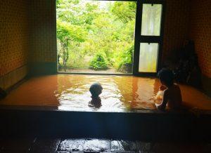 天狗温泉・浅間山荘/1階の風呂(男湯)