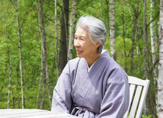 白骨温泉・小梨の湯笹屋/加藤二三子さん