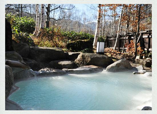 小梨の湯笹屋/貸切露天風呂