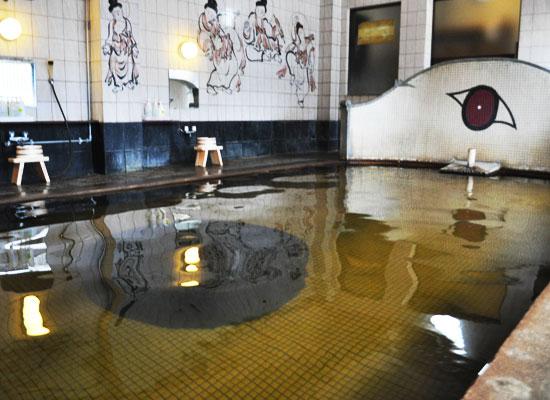 東鳴子温泉・旅館大沼/千人風呂(混浴)