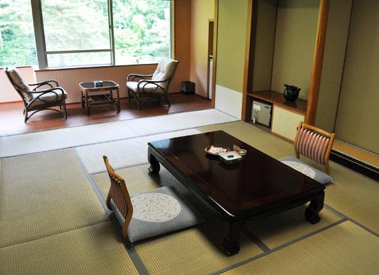 村杉温泉・風雅の宿 長生館/客室