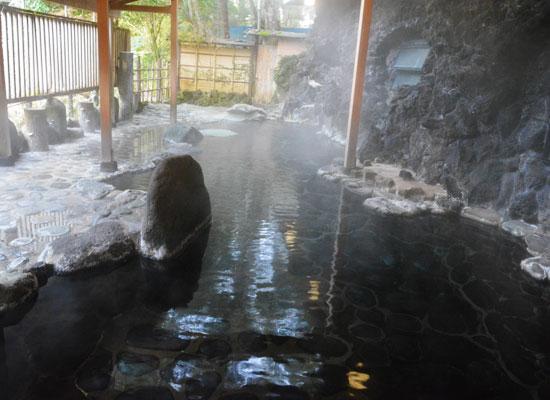 天城湯ヶ島温泉・落合楼村上/露天「天狗の湯」