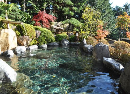 下呂温泉・湯之島館/展望露天風呂「飛山之湯」