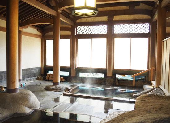 修善寺温泉・新井旅館/内湯「天平風呂」