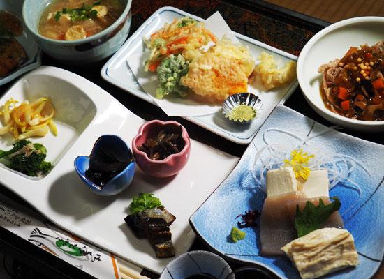 玉梨八町温泉・恵比寿屋/料理