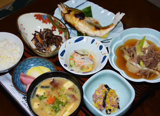 肘折温泉・木村屋旅館/料理