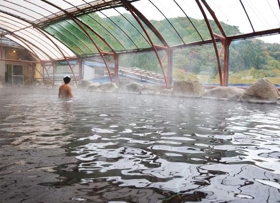湯の瀬温泉・湯の瀬旅館/混浴・露天風呂