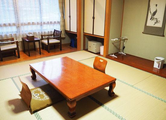 中塩原温泉・赤沢温泉旅館/客室