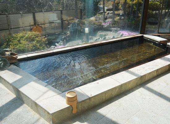 湯西川温泉・上屋敷 平の高房/内湯