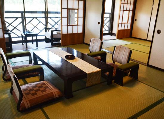 湯西川温泉・上屋敷 平の高房/客室