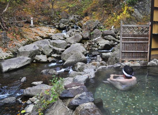 大平温泉・滝見屋/男湯