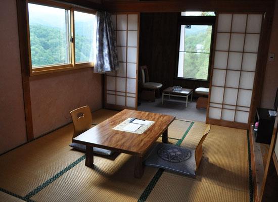 尻焼温泉・白根の見える丘/客室