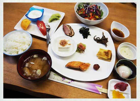 中塩原温泉・赤沢温泉旅館/朝食