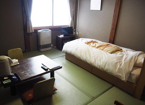 谷地温泉/客室