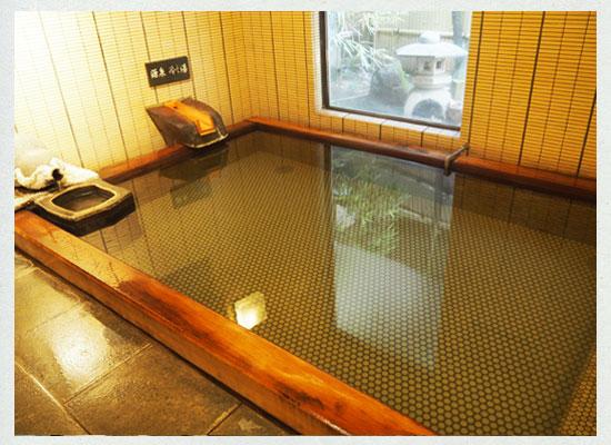 湯河原温泉・源泉上野屋/六瓢の湯