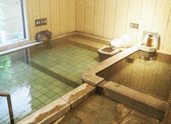 湯河原温泉・源泉 上野屋/内湯「無瓢の湯」
