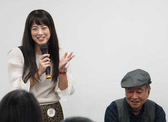 第6回温コレカフェ/北出恭子さんと三橋弘行さん