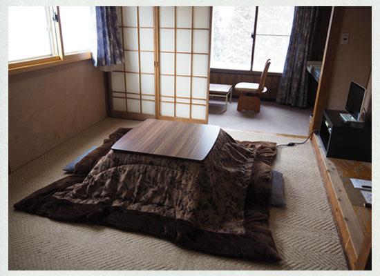 尻焼温泉 白根の見える丘/客室(角部屋・白根)