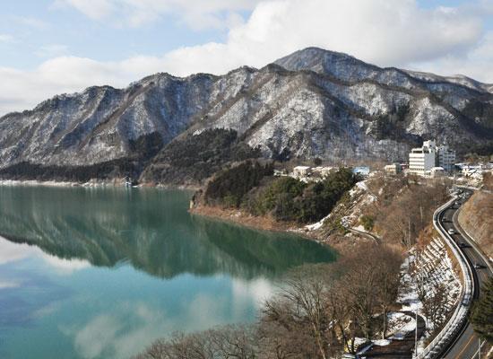猿ヶ京温泉・猿ヶ京ホテル/赤谷湖側601号室眺望