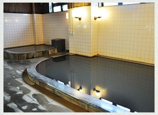 塩の湯温泉・明賀屋本館/大浴場(男湯)