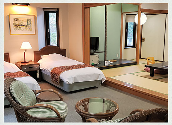 奥塩原新湯温泉 奥塩原高原ホテル/客室(和洋室)