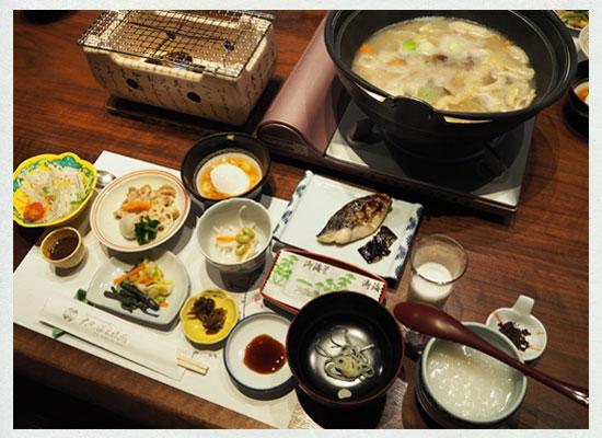 大丸温泉・大丸温泉旅館/朝食