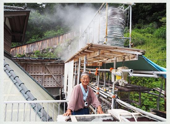 桜田温泉・山芳園/冷却装置