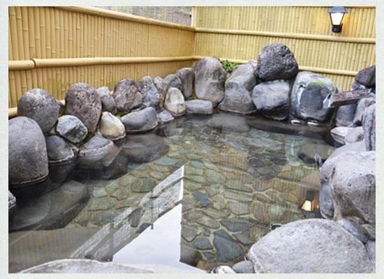 船原温泉・船原館/露天風呂「山の湯」