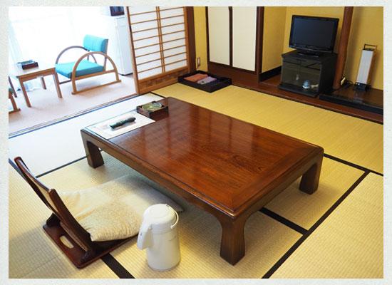 下部温泉 古湯坊 源泉舘/本館の客室