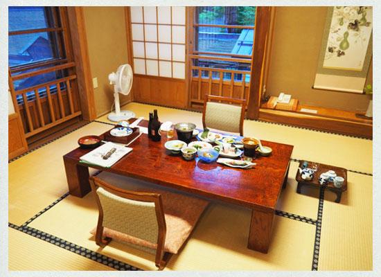法師温泉 長寿館/法隆殿の客室